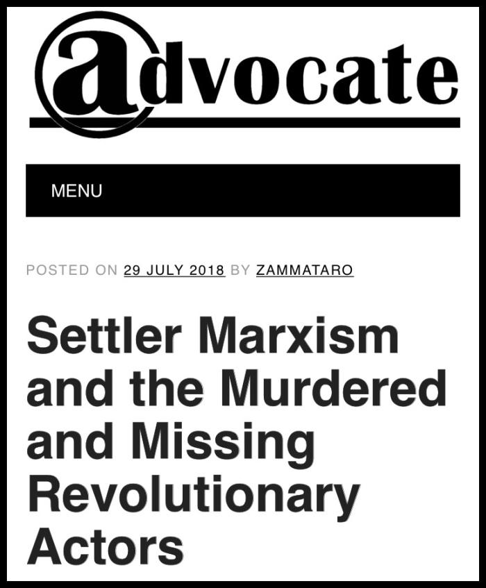 Settler Marxism cover